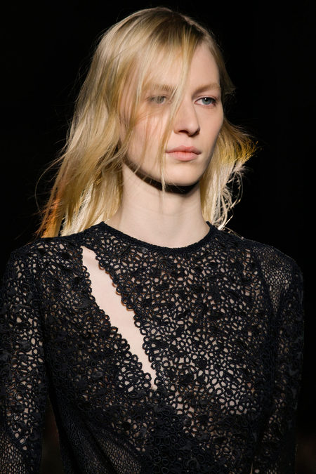 Proenza Schouler Fall Winter 2013 lace