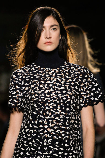 Proenza Schouler Fall Winter 2013 print laser cut