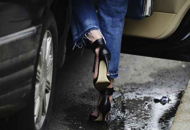 Street Style New York Fashion Week FW13 heels
