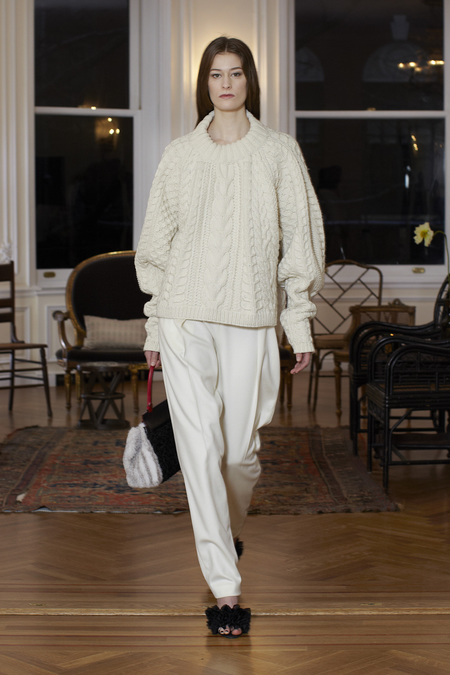 The Row Fall Winter 2013 all white look