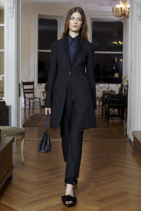 The Row Fall Winter 2013 black coat