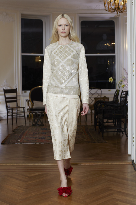 The Row Fall Winter 2013 embroided