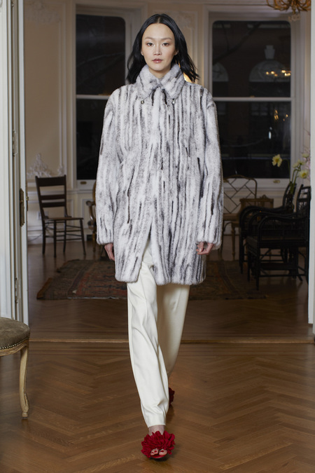 The Row Fall Winter 2013 grey fur