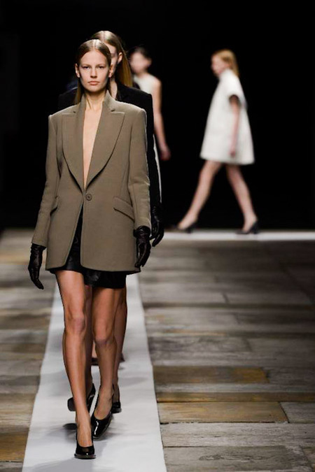 Theyskens' Theory Fall 2013 catwalk