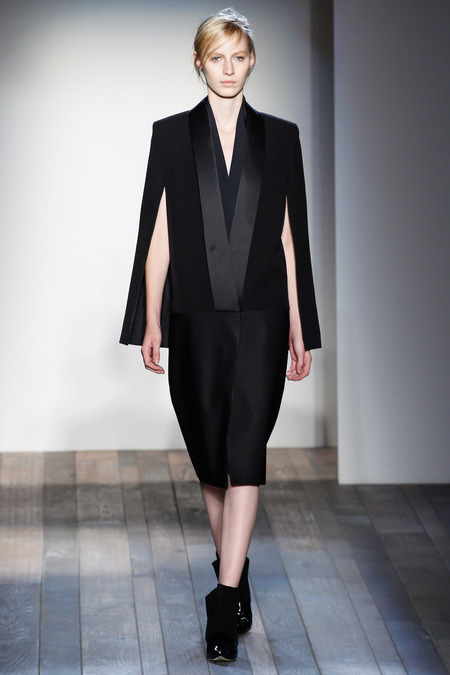 Victoria Beckham Fall 2013 suit skirt