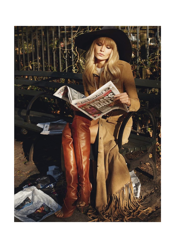 Vogue Paris February 2013 Natasha Poly by Terry Richardson
