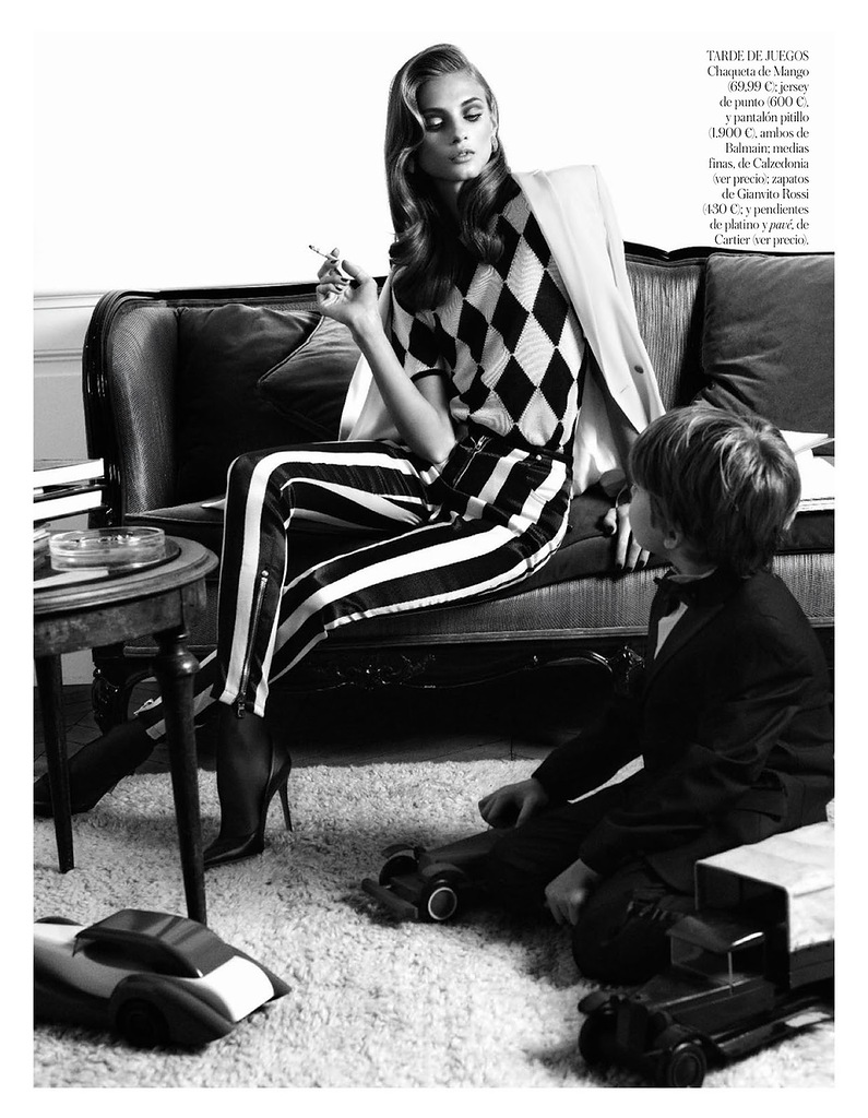 Vogue Spain March 2013 editorial Geraldine Saglio-5