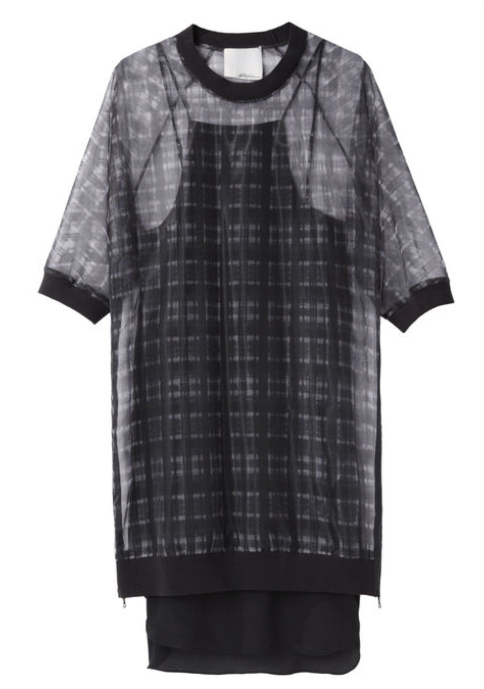 3.1 Phillip Lim Trom L'Oeil Plaid dress