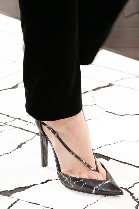 Balenciaga Fall 2013 pointy pumps