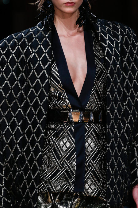 Balmain Fall 2013 pattern