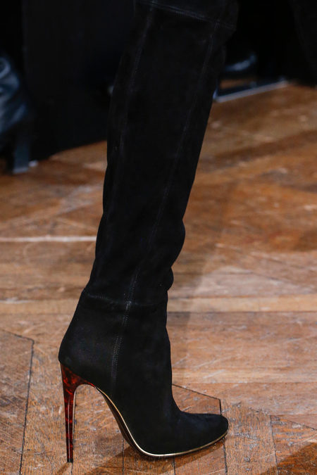 Balmain Fall 2013 suede boots