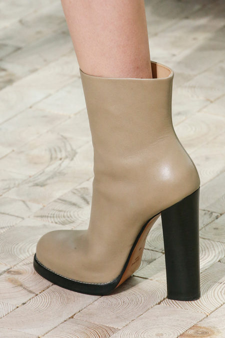 Céline Fall 2013 beige ankle boot