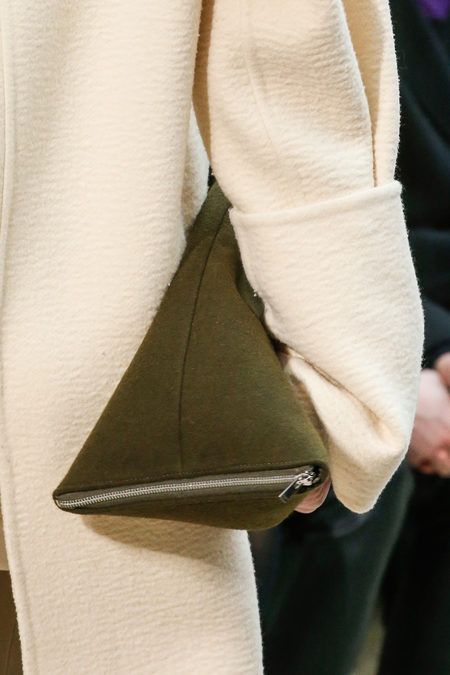 Céline Fall 2013 green clutch