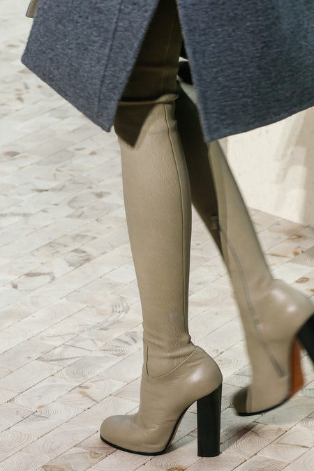 Céline Fall 2013 knee high boots in grey