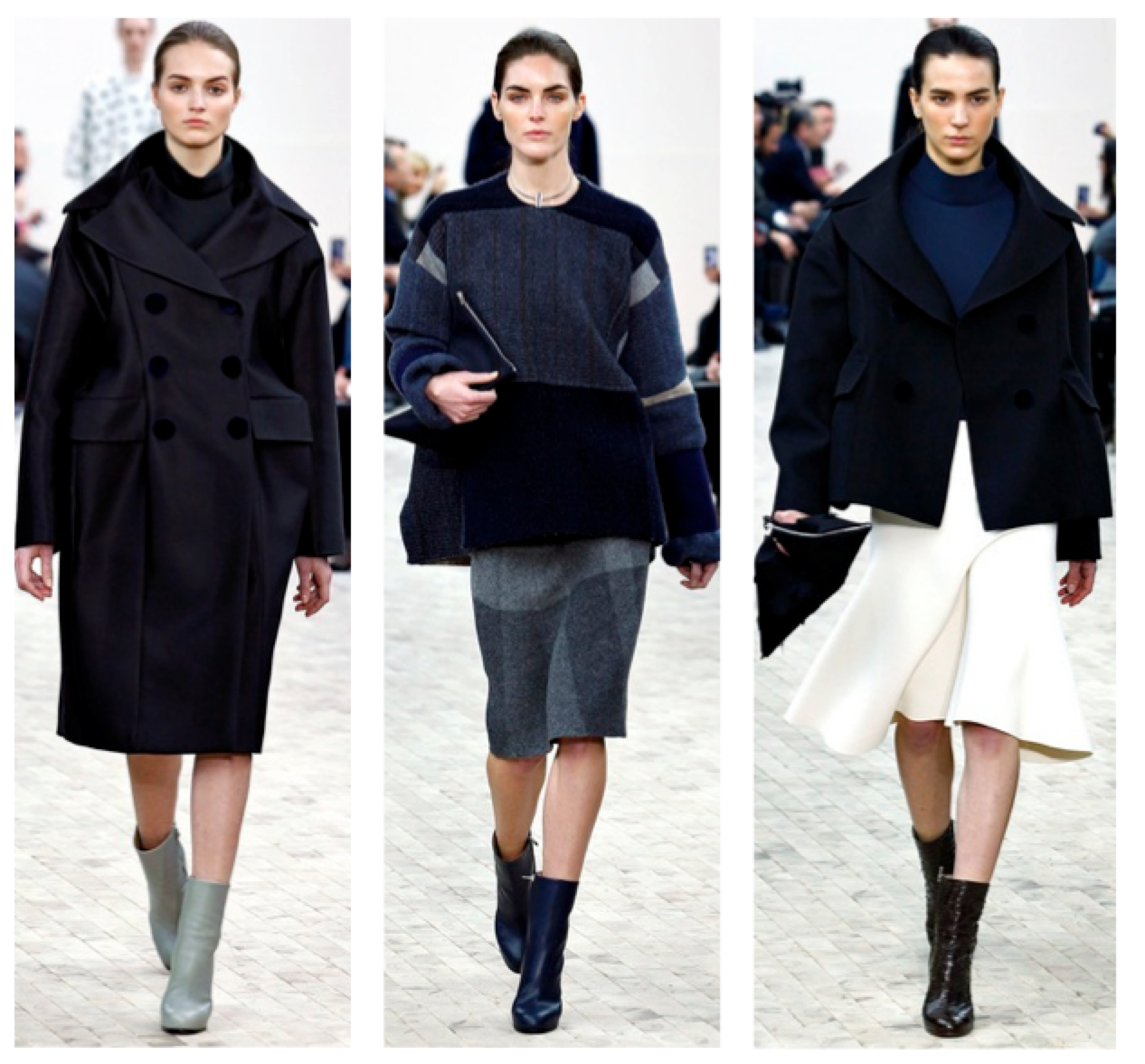 Céline RTW Fall 2013 blue