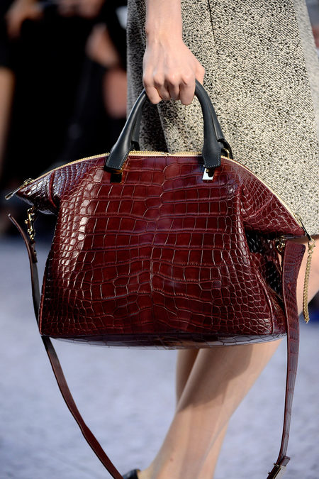 Chloé Fall 2013 croco bag