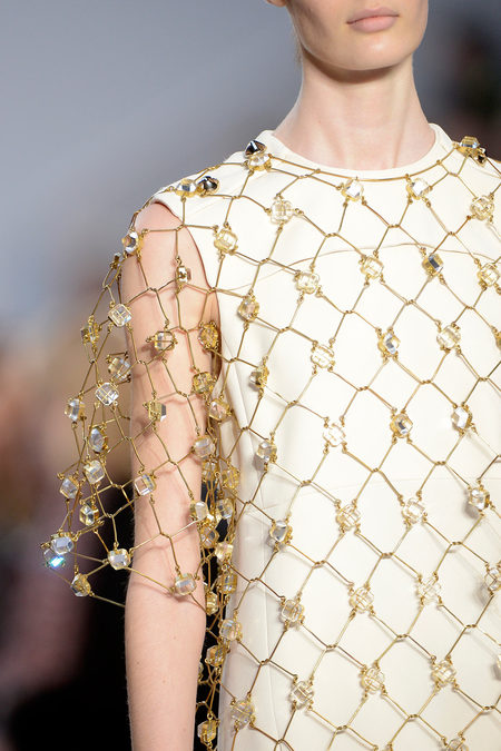 Chloé Fall 2013 embellished top
