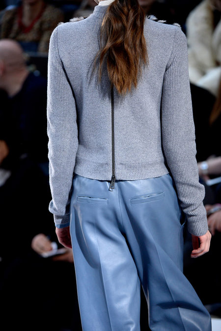 Chloé Fall 2013 leather trousers back