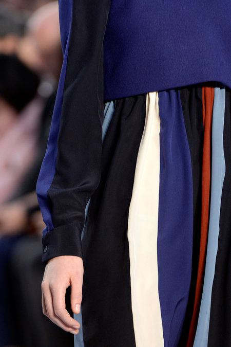 Chloé Fall 2013 stripes
