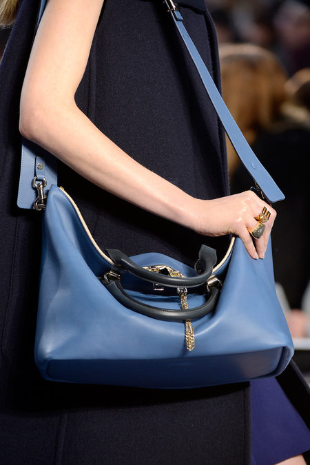 Chlo Fall 2013 blue hand bag