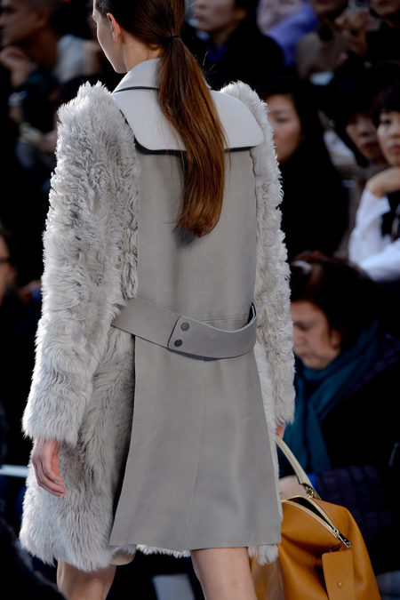 Chlo Fall 2013 shearling coat