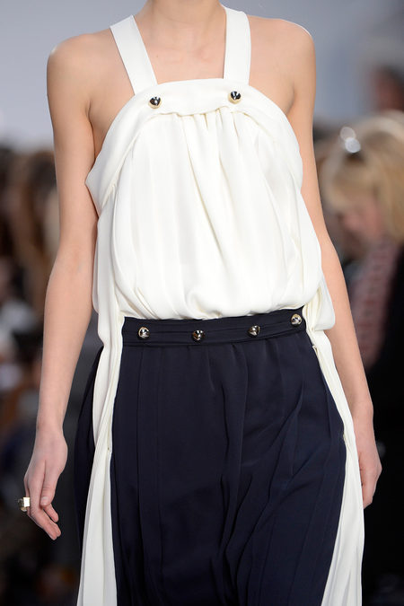 Chloé Fall 2013 white and black