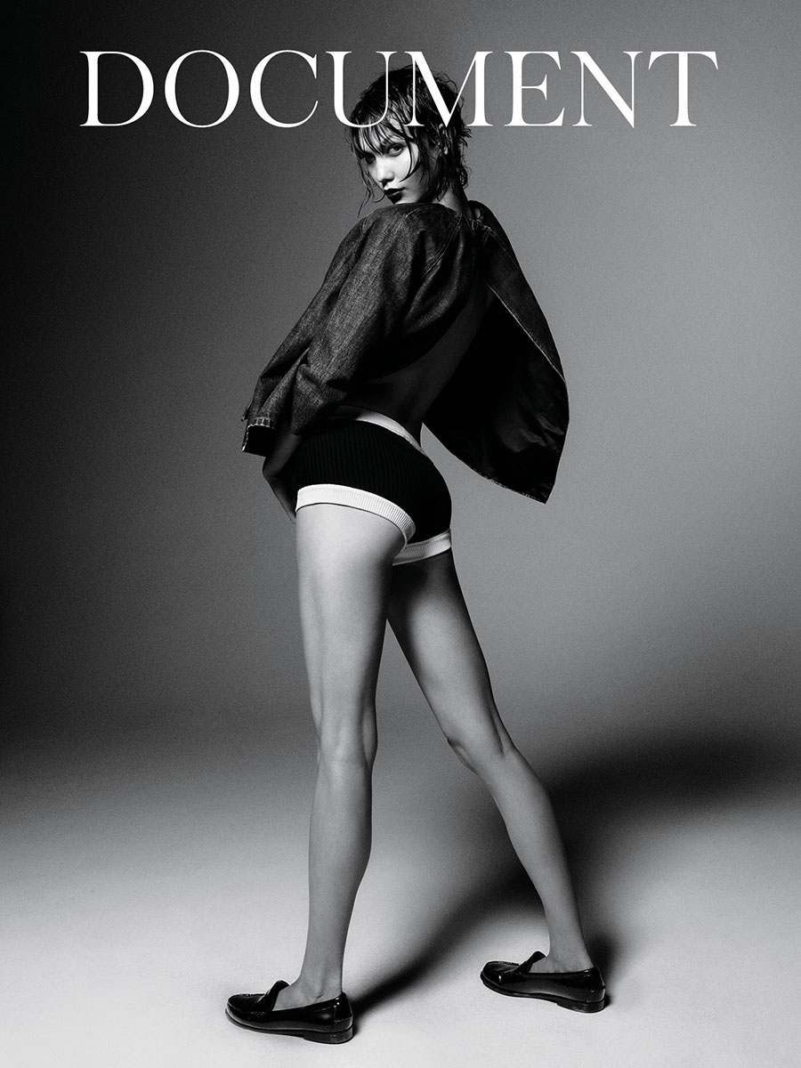 Document Cover Karlie Kloss by Daniel Jackson full body