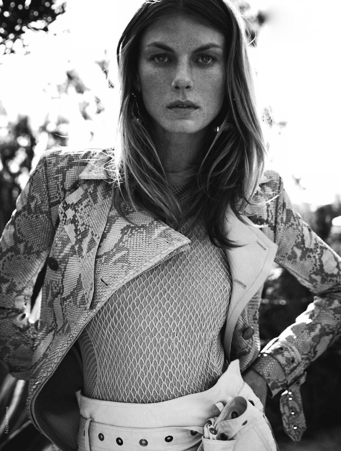 ELLE France February 2013 Angela Lindvall