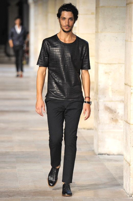 Hermes - Mens Spring Summer 2013 Runway - Paris Menswear Fashion Week