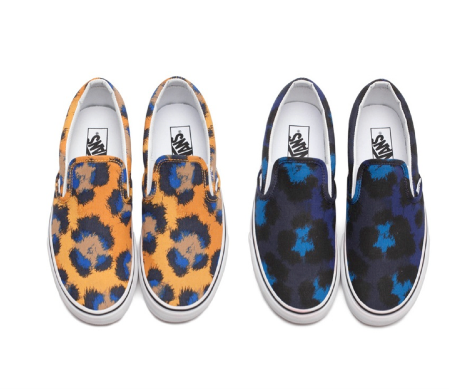 Kenzo x Vans shoes collaboration Leopard