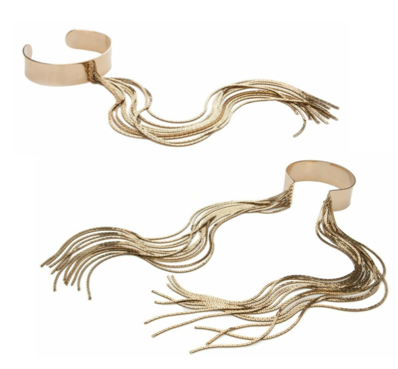 Monica Sordo Medusa Jewelry Gold bracelets