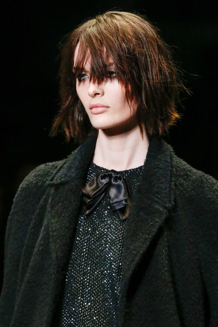 Saint Laurent Fall 2013 fringe