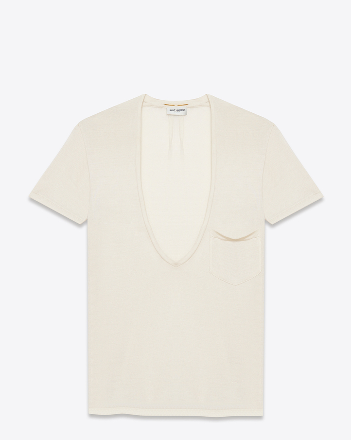 Saint Laurent t-shirt v-neck