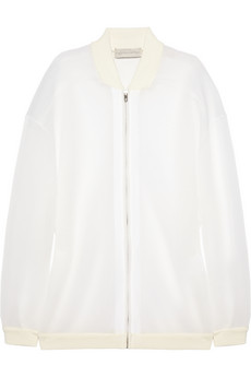 Stella McCartney Airtex mesh jacket