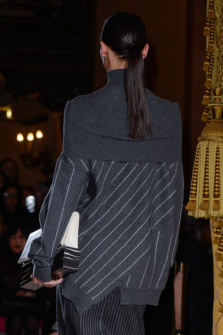 Stella McCartney Spring 2013 back and ponytail