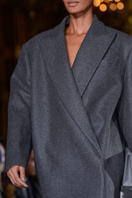 Stella McCartney Spring 2013 coat grey
