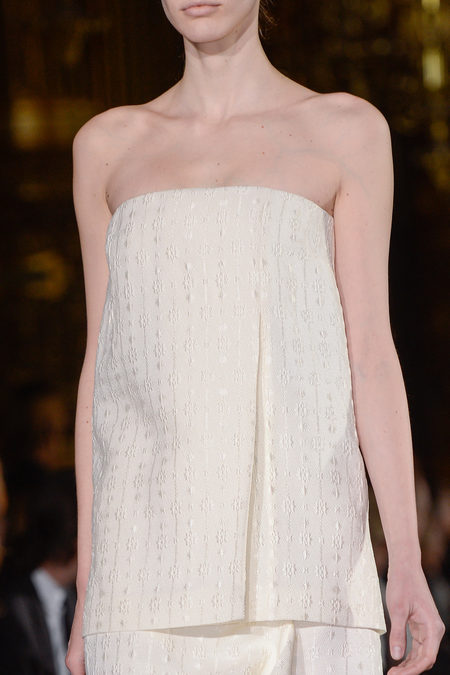 Stella McCartney Spring 2013 white tube