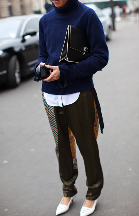 Street Style the Lunch bag by Proenza Schouler