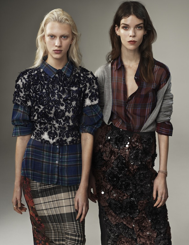 Vogue UK March 2013 Meghan Collison & Juliana Schurig by Josh Olins-7