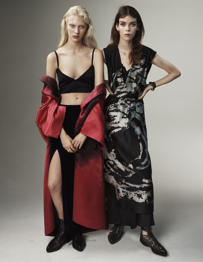 Vogue UK March 2013 Meghan Collison &amp; Juliana Schurig by Josh Olins-9