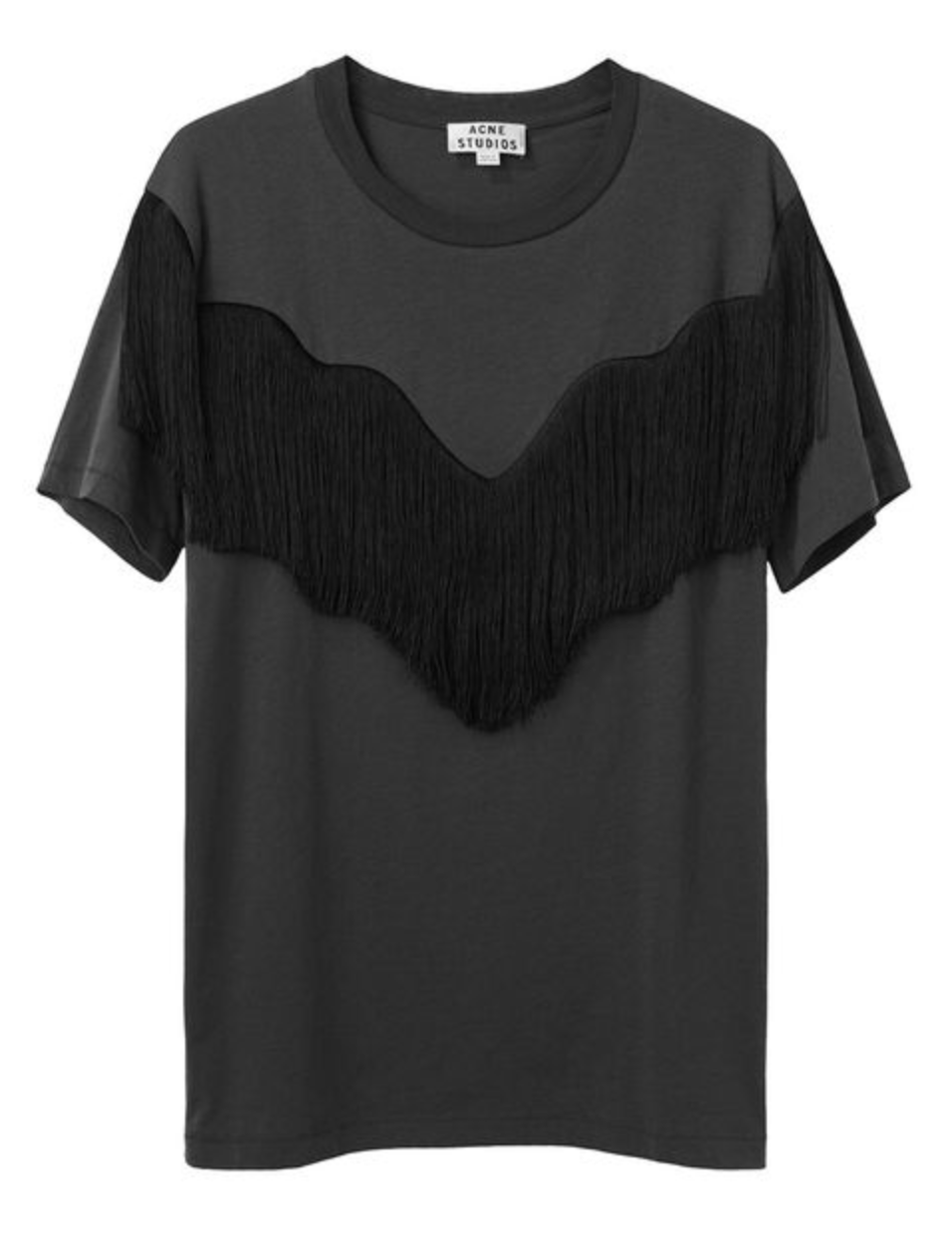 Acne Studios Joshi Fringe tee