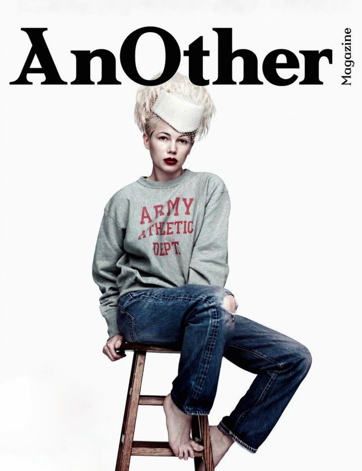 AnOther Magazine Cover Spring and Summer 2013 Michelle Williams by Willy Vanderperre