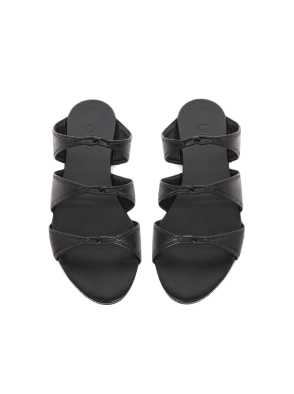 Chloe Karung Slip On Sandal in black