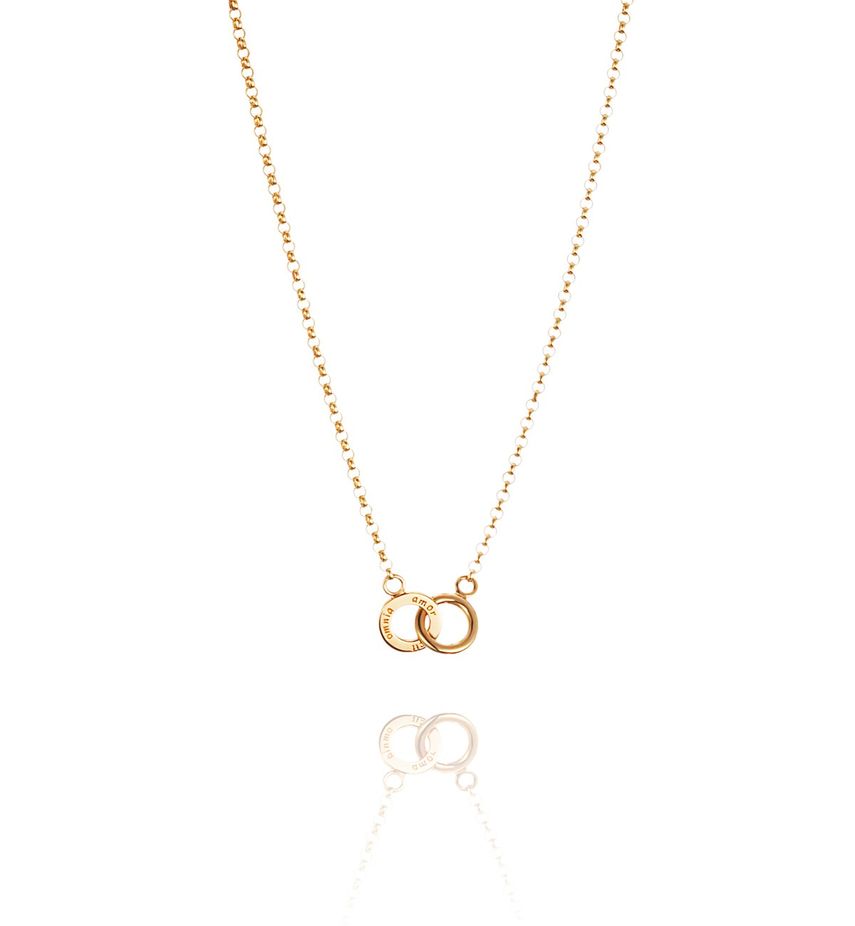 Efva Attling Twosome necklace gold