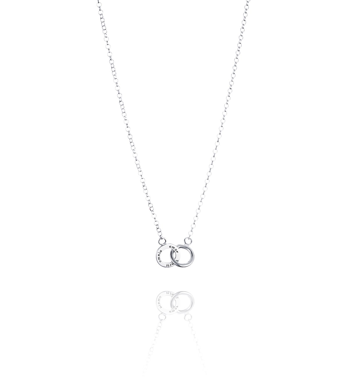 Efva Attling Twosome necklace silver