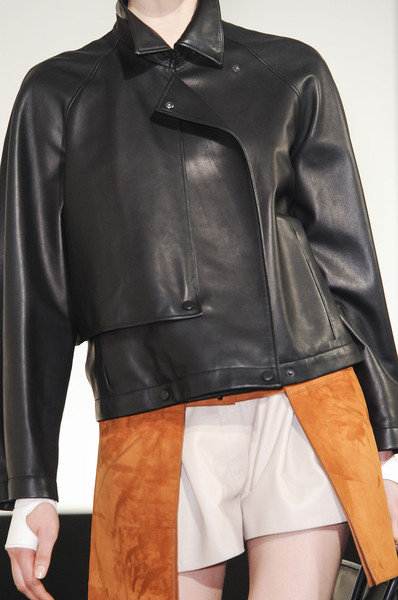 Hermès Spring 2013 RTW leather jacket