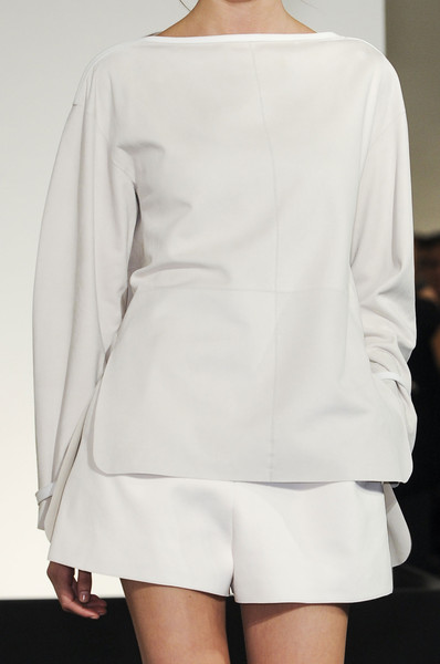 Herms Spring 2013 RTW white look