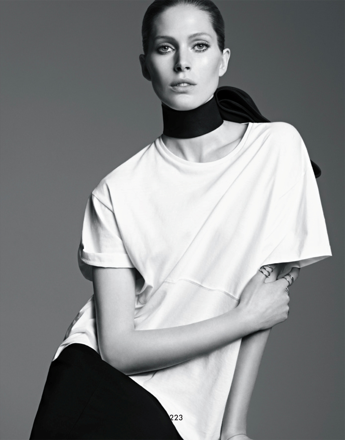 Iselin Steiro by Karim Sadli for The Gentlewoman Spring Summer 2013
