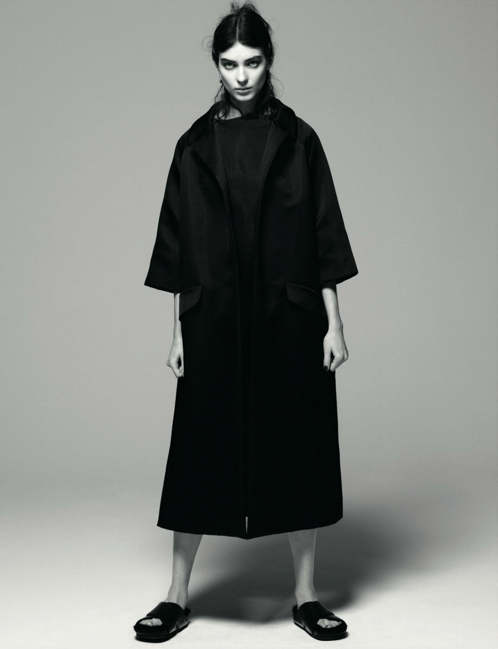 Kati Nescher in AnOther Magazne Spring 2013 by Daniel Jackson coat