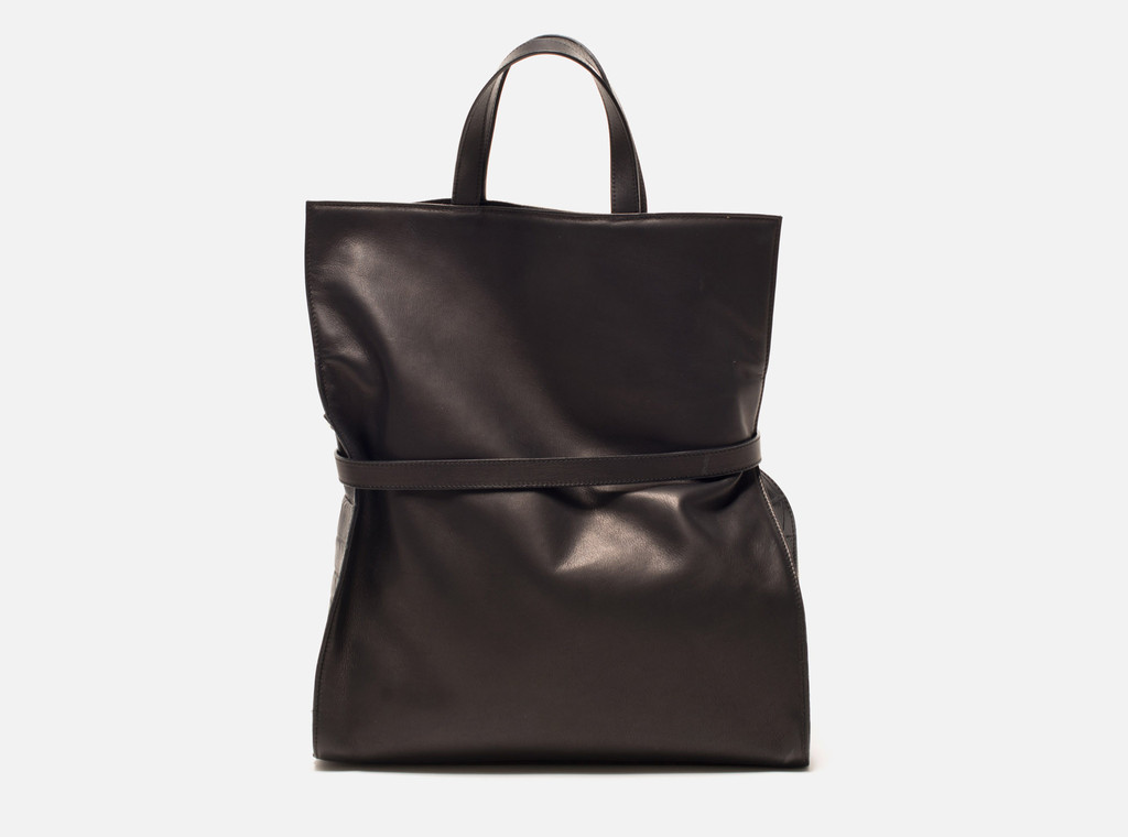 Little Liffner black canvas tote bag